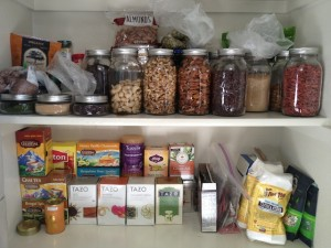 A healthy pantry filled with cooling foods