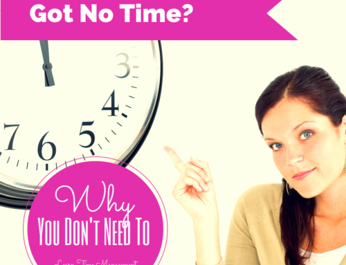 Why You Don't Need To Learn Time Management