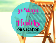 healthy vacation