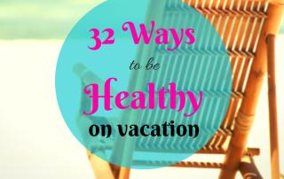 healthy vacation
