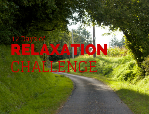 The 12 Days of Relaxation Challenge is Back!
