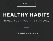 Healthy Habits Say No