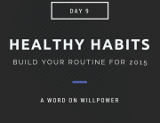 Healthy Habits Willpower
