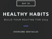 healthy habits obstacles