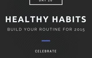 healthy habits celebrate