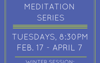 winter meditation series chakras