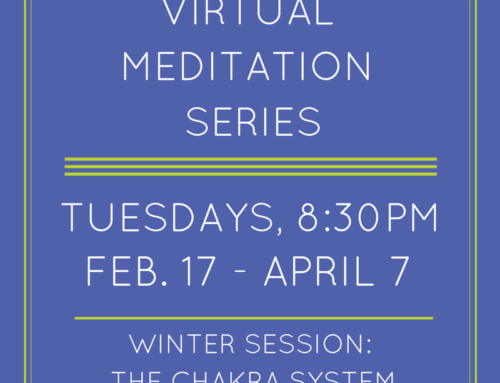 Winter Virtual Meditation Series