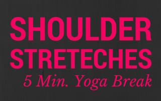 yoga shoulder stretches