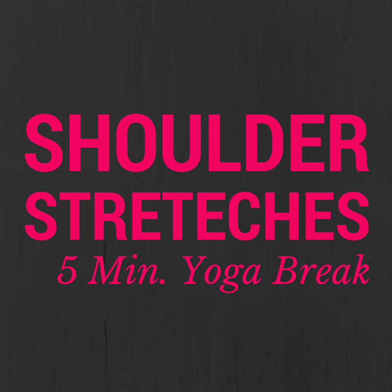 yoga shoulder stretches