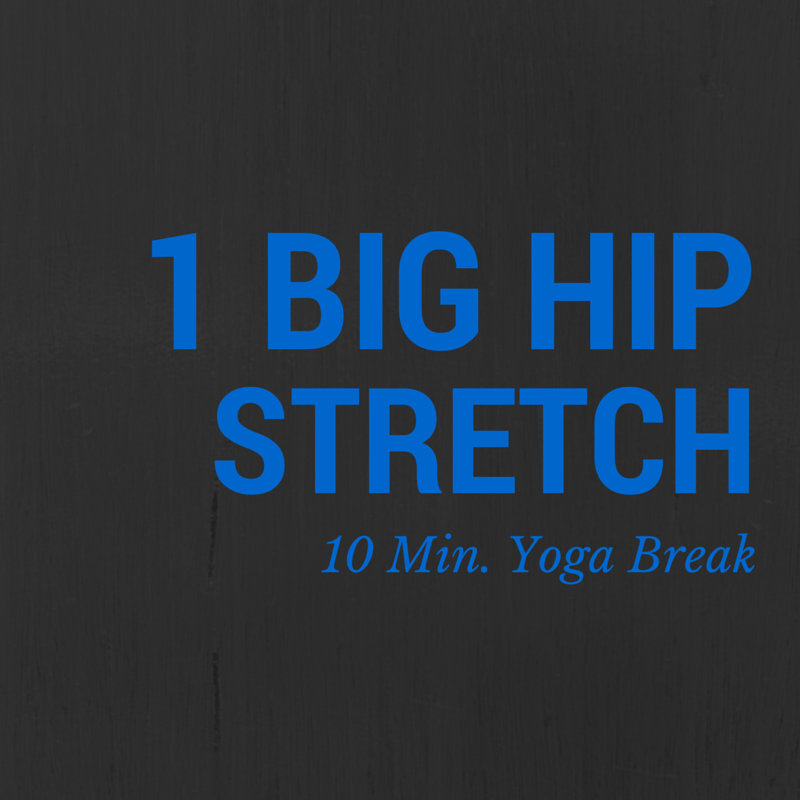 Big Yoga Hip Stretch