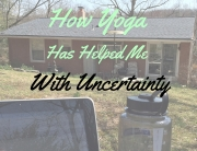 yoga helps with uncertainty