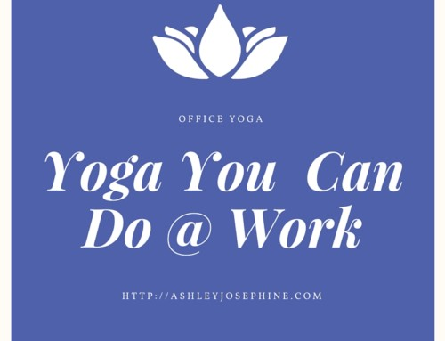 Yoga you can do at work