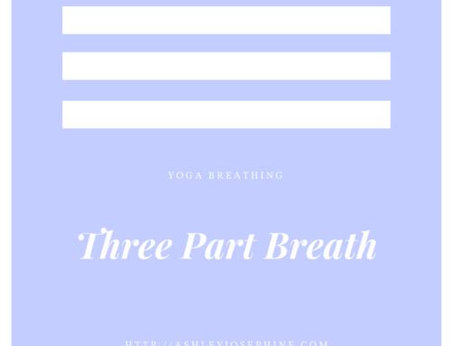Yoga Breathing: The Three Part Breath
