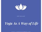 yoga as a way of life