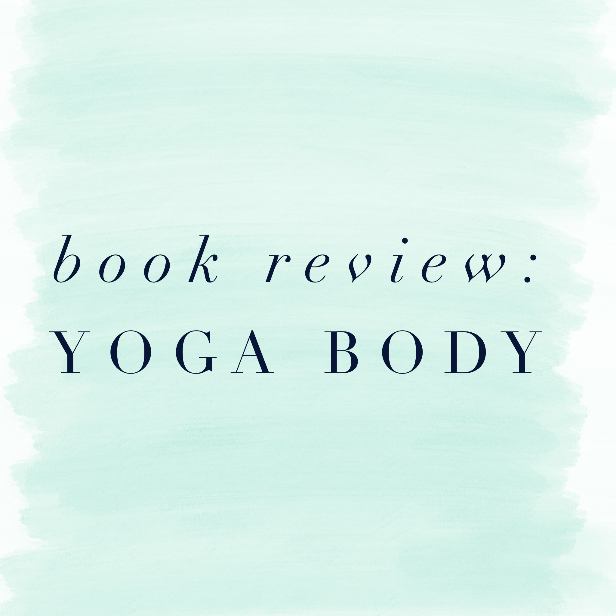 book review yoga body
