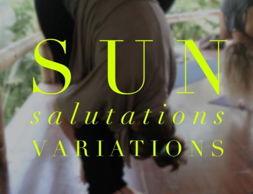 Sun Salutations Variations