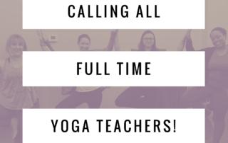 yoga teacher interview project