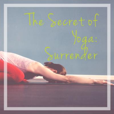 secret of yoga surrender